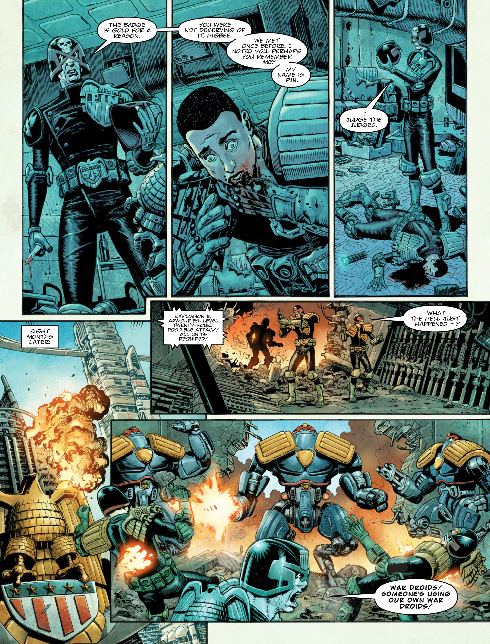 Read online 2000 AD comic -  Issue #2036 - 4