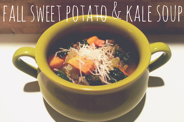 Fall Sweet Potato & Kale Soup