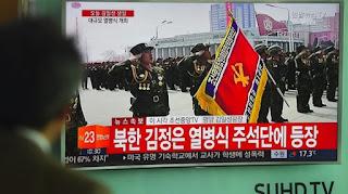 Parade Militer Korea Utara