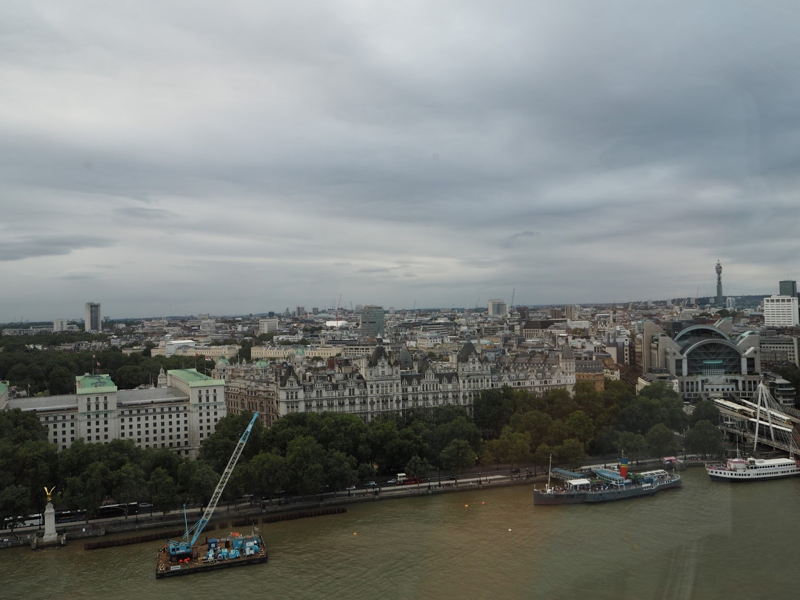London as viewed from The London Eye