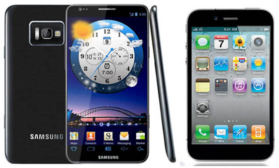 Samsung Galaxy S3 vs New iPhone 5: Release Dates and Specs