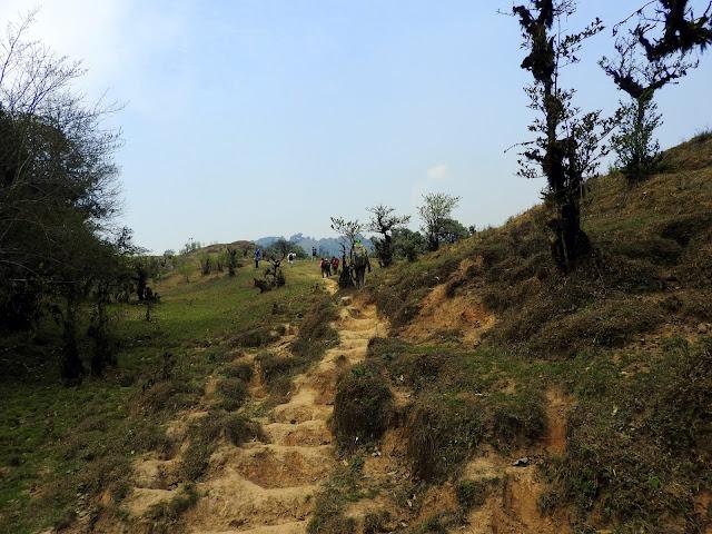 Day 1: Take 1 - Right outside Chitrey Monastery | Sandakphu - April2016