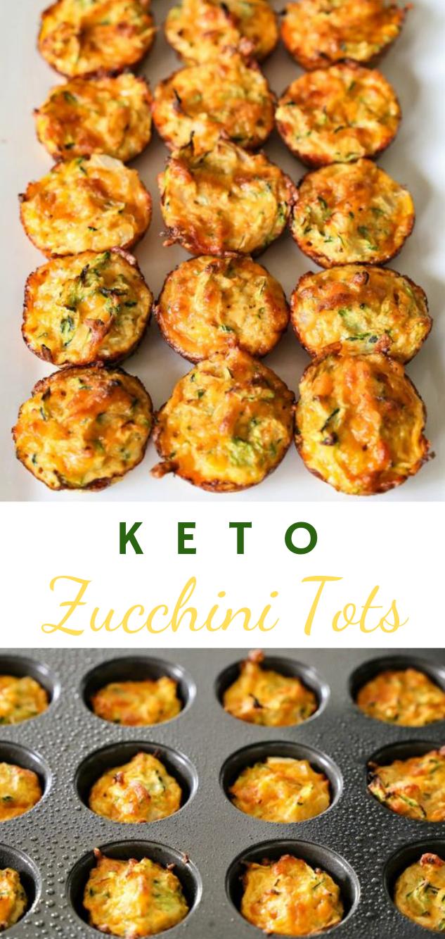 Keto Zucchini Tots #diet #zucchini