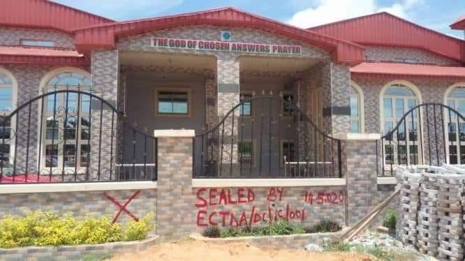 Enugu Govt. Seals Lord's Chosen Headquarters