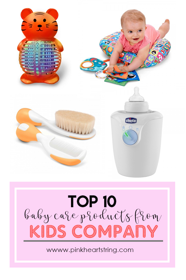 Top 10 Baby Care Products from KidsCompany