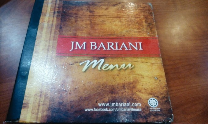 Restoran JM Bariani : Enak & Lazat