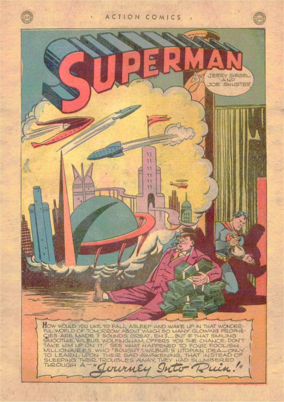 Read online Action Comics (1938) comic -  Issue #107 - 2