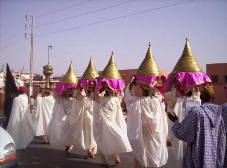 العرس المغربي الطيافر