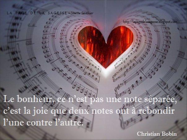 La Page De La Sagesse Citation De Christian Bobin Sur Le