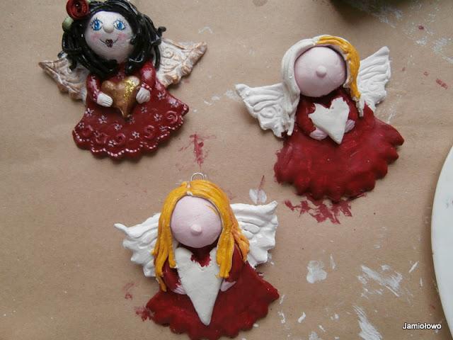 kolor włosów aniołków