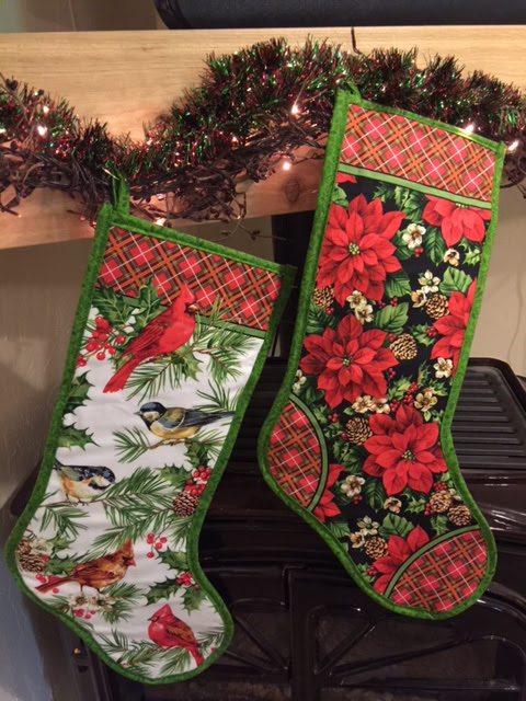 Home for the Holidays Christmas Stockings Project from Kimberlys Fabric Stash