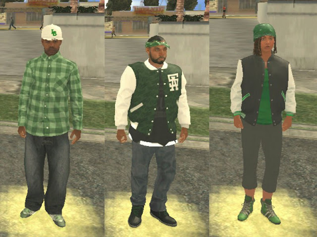 GTA V Families [Gang Members] Mod for Android GTAAM best mod download high quality
