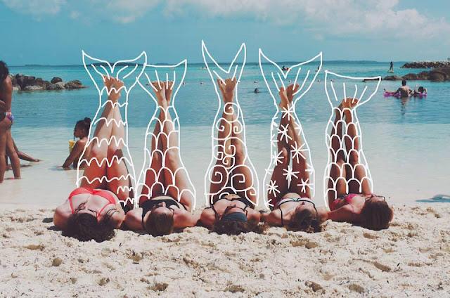 fotos praia verão fotografia sereia inspiração