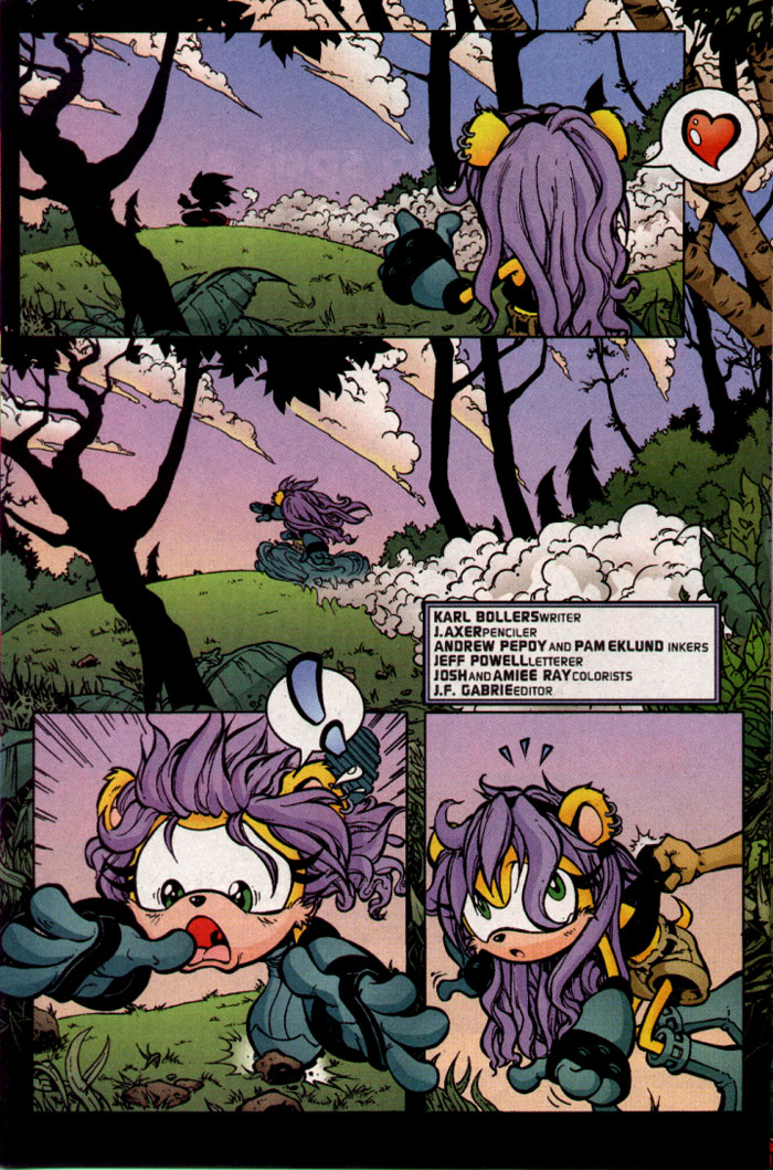 Read online Sonic The Hedgehog comic -  Issue #109 - 17