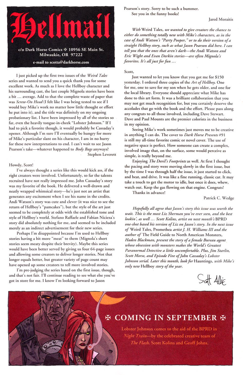 Read online Hellboy: Weird Tales comic -  Issue #4 - 29