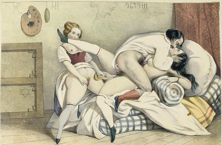 Старинные эротические рисунки англия — img 2