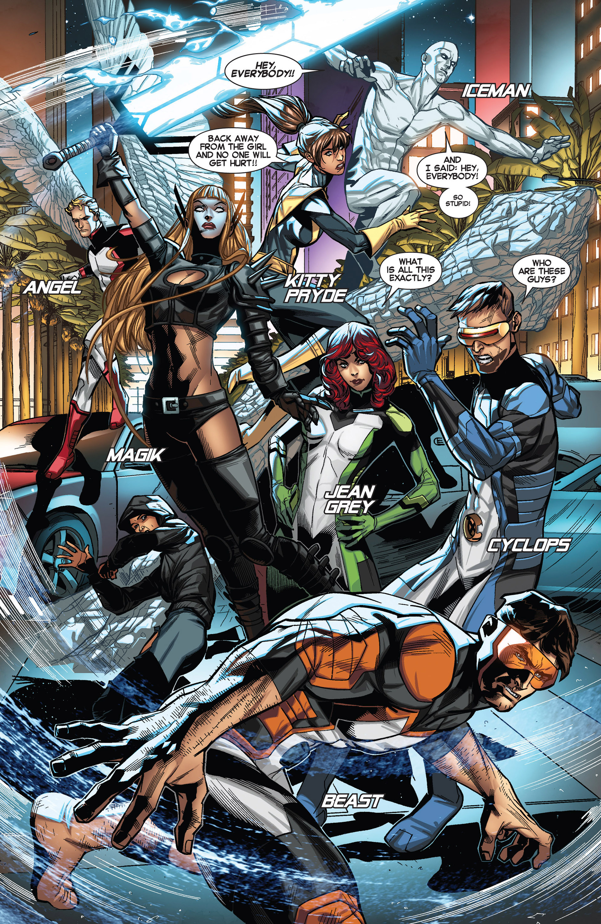 Read online All-New X-Men (2013) comic -  Issue #19 - 4