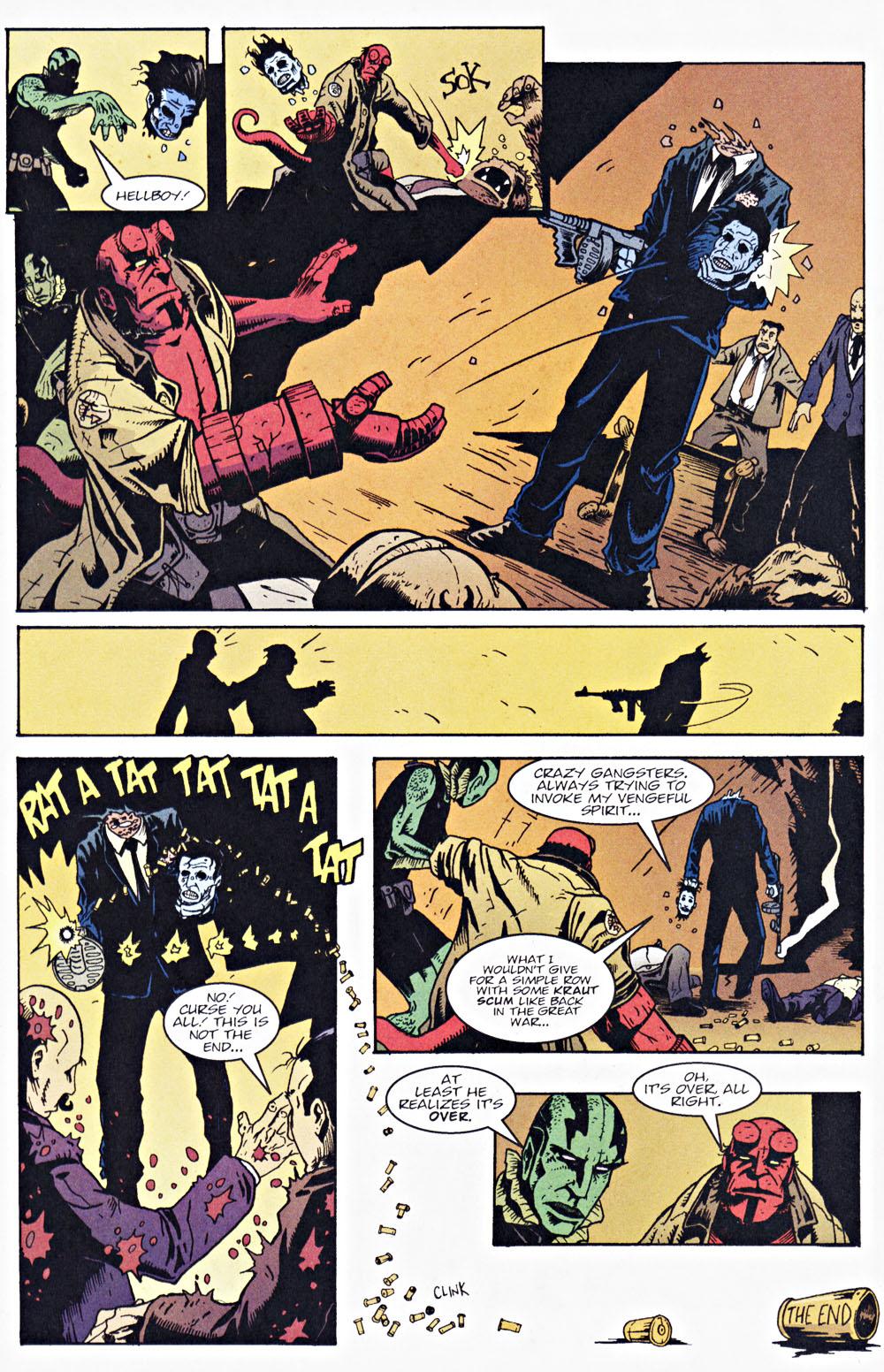 Read online Hellboy: Weird Tales comic -  Issue #7 - 18