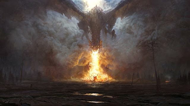 Fire Dragon Wallpaper Engine