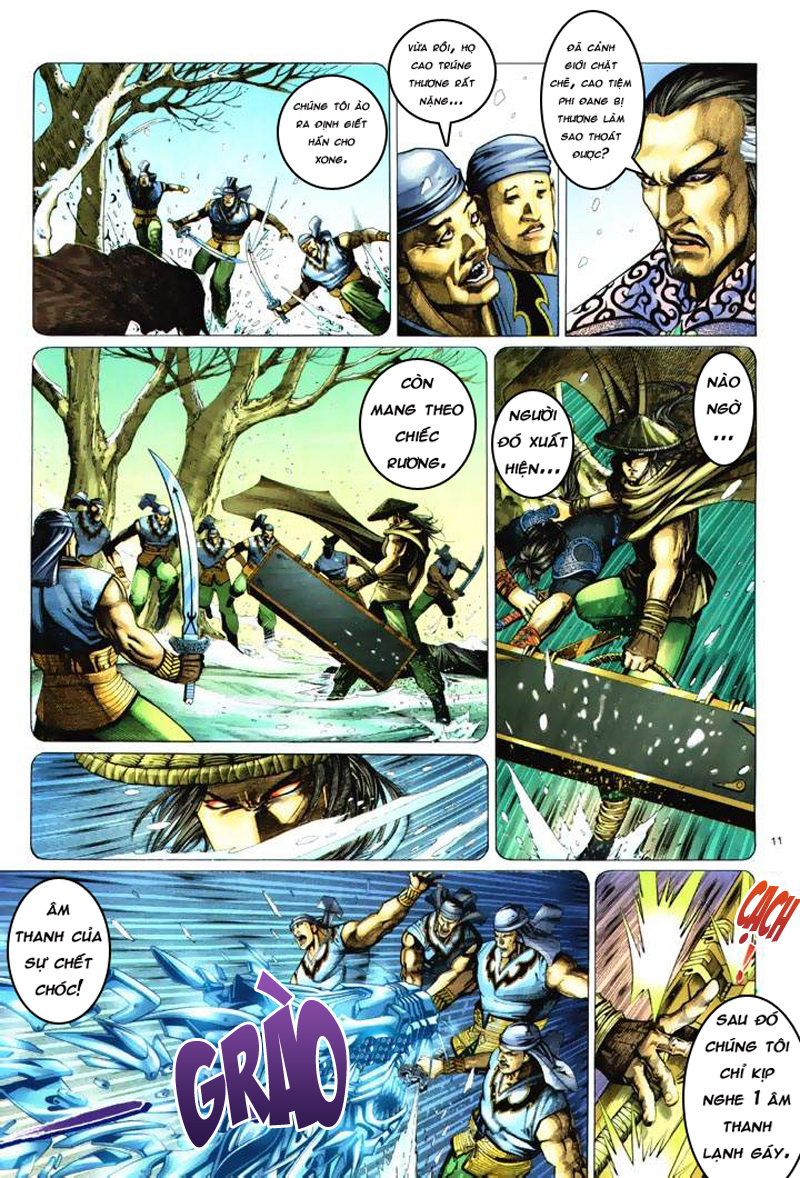 Anh hùng vô lệ Chap 6: Anh hùng hữu lệ trang 11