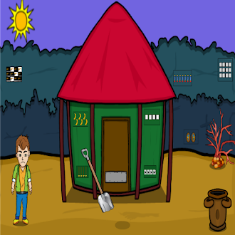 Games2Jolly Forest Cute Man Hungry Escape
