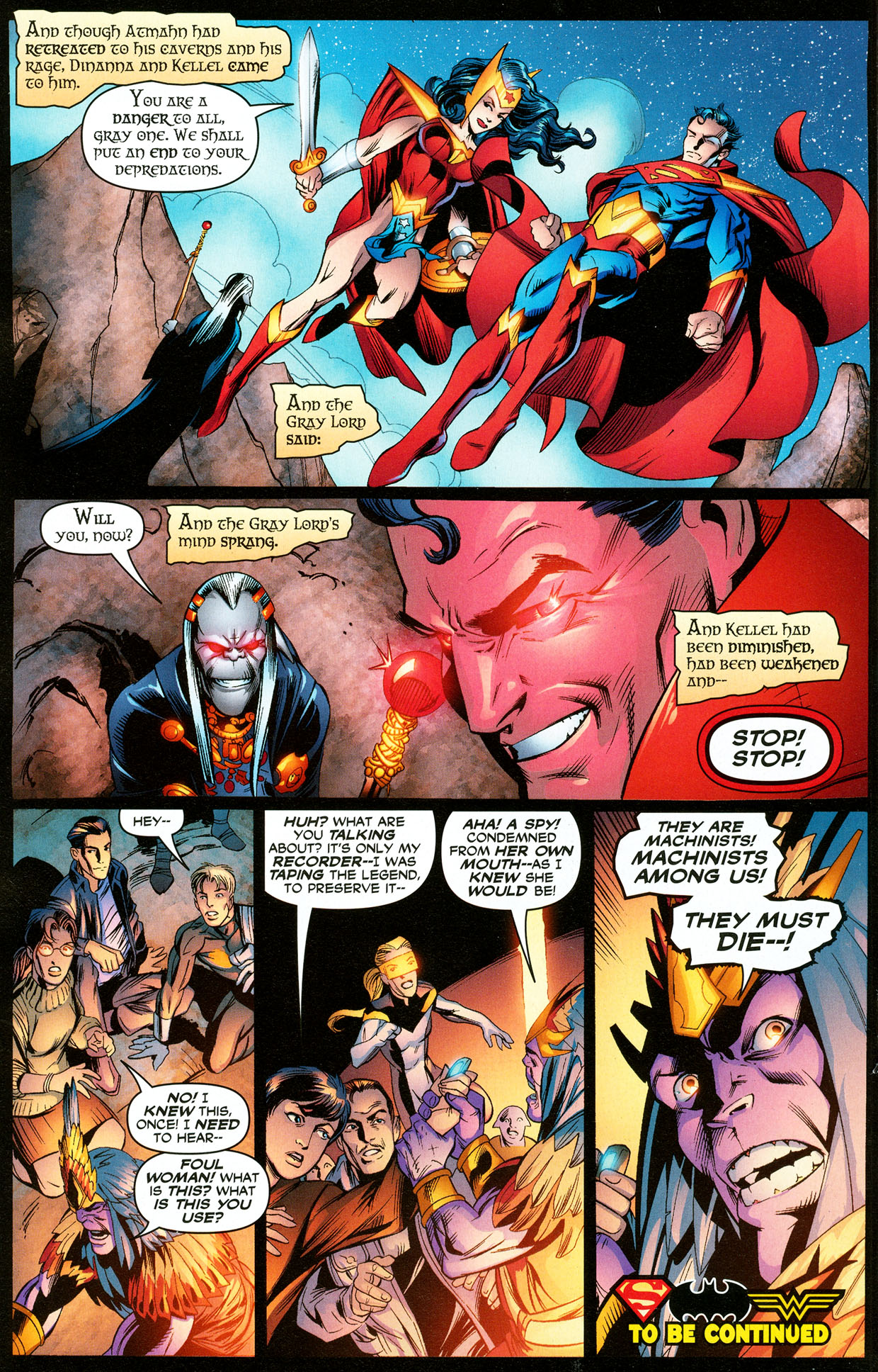 Read online Trinity (2008) comic -  Issue #32 - 17