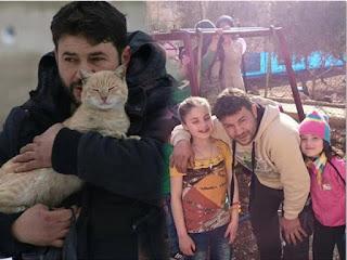 Lelaki Penyelamat Kucing Syria
