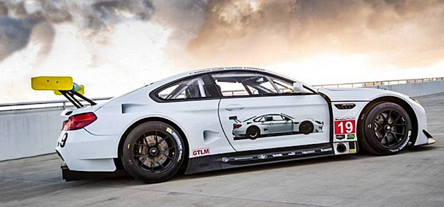 2017 BMW M6 GTLM Art Car is FAST