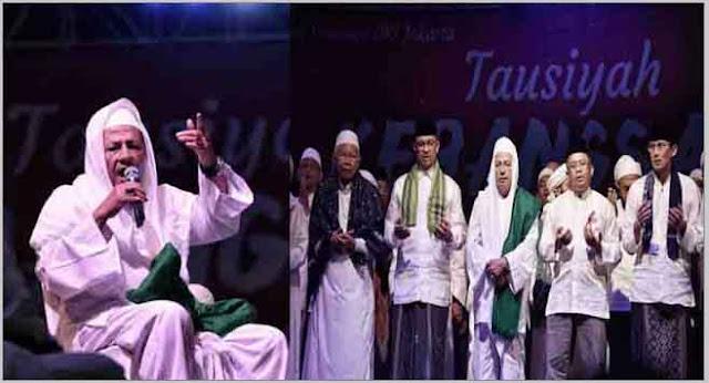 Tausiyah Kebangsaan, Habib Luthfi: Saatnya Umat Bangkit, Jangan Mau Dipecah Belah Lewat Isu Khilafiyah dan Pilkada