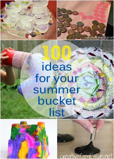 100 More Summer Bucket List Ideas
