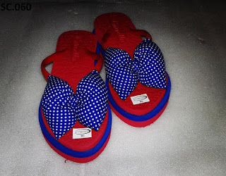 Sandal Wedges Variasi Pita (Sandal Pita Murah)