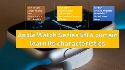 Apple Watch Series lift 4 curtain,learn its characteristics