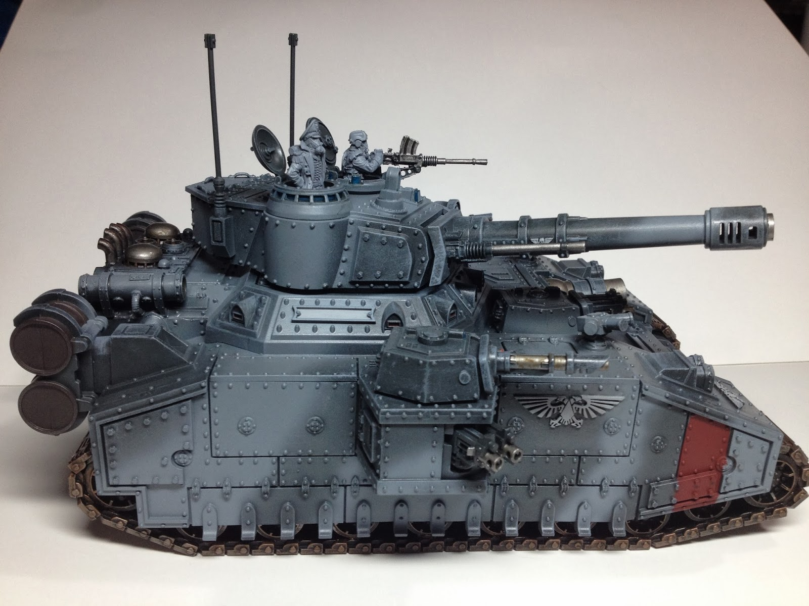 Death Korps of Krieg Baneblade WIP Right Side