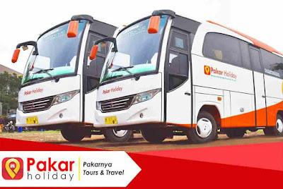 Liburan ke kawah putih bandung dengan bus pariwisata