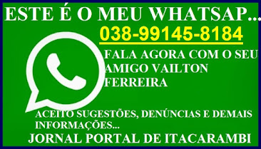 WAT SAP DO PORTAL DE ITACARAMBI