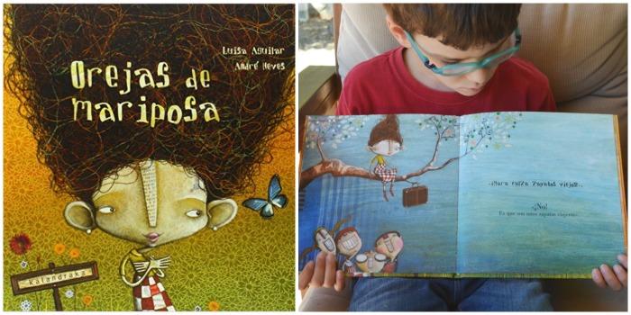 cuentos para enseñar valores niños: orejas de mariposa, autoestima