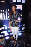 Ritika Singh in Black Printed Shirt and White Leggings at IIFA Utsavam Awards press meet 27th March 2017 05.JPG