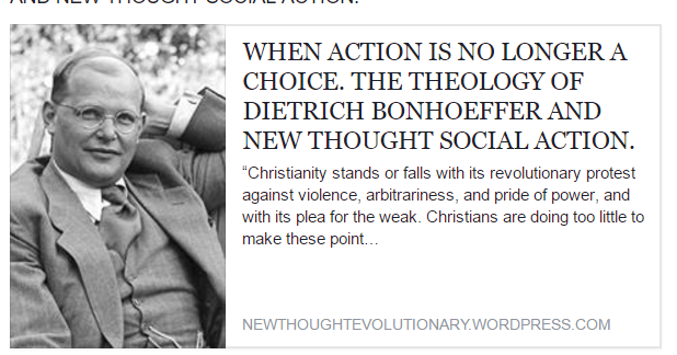an analysis of liberation theology by dietrich bonhoeffer Get an answer for 'examine the significance of gustavo gutiérrez's quote from dietrich a theology of liberation dietrich bonhoeffer's theology was.