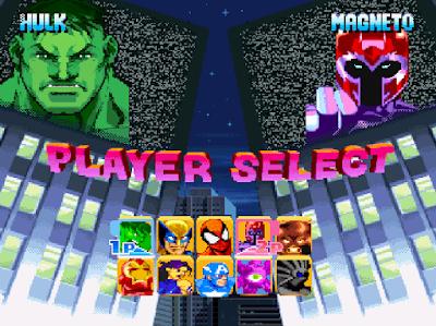 MARVEL SUPER HEROES MUGEN