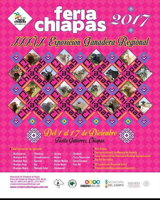 expo ganadera feria chiapas 2017