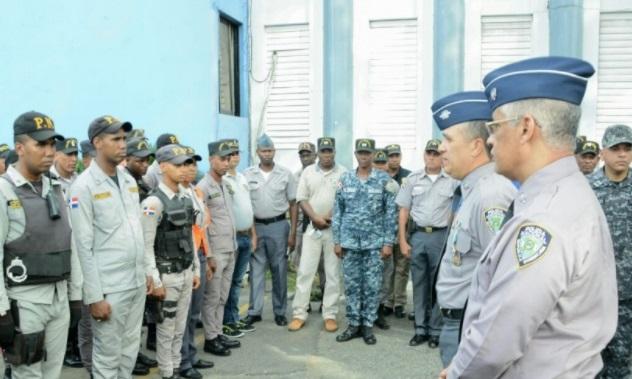 Director de la Policía visita Dirección Regional Sureste en San Pedro de Macorís