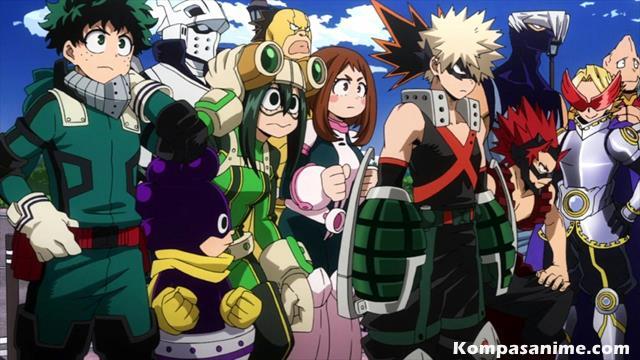 Setelah sukses menjadi salah satu manga shounen terbaik