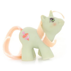 My Little Pony Jabber Year Six Newborn Twin Ponies II G1 Pony