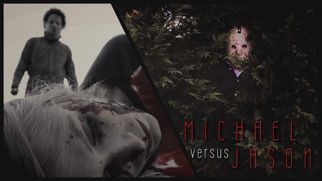 Michael Versus Jason Poster