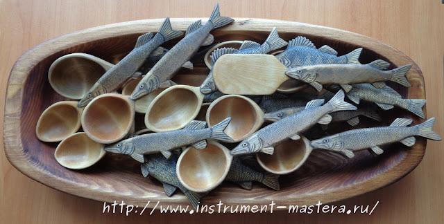 деревянные ложки