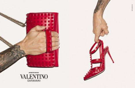 Newsflash: A Sneak Peek at Valentino's Fall 2013 Accessories  Ad Campaign