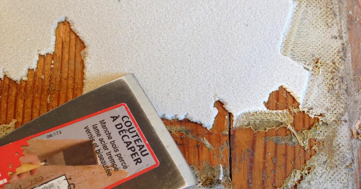 d coration de la maison enlever colle papier peint sur le mur. Black Bedroom Furniture Sets. Home Design Ideas