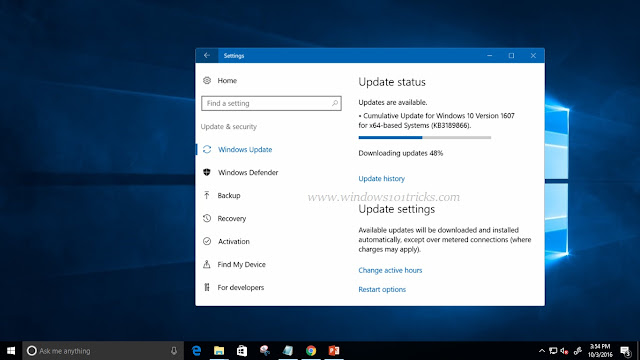 windows 10 stuck wihle download and install windows updates.