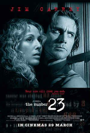 Poster of (+18) The Number 23 (2007) Dual Audio [Hindi-English] 720p BluRay ESubs Download