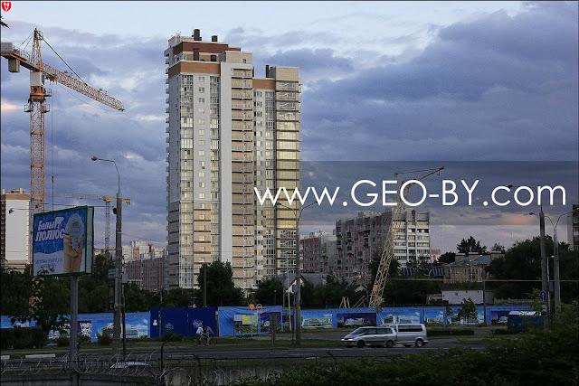 Минск. Улица Маяковского. Новострой